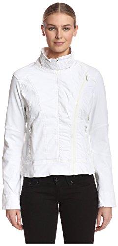 DL1961 Women's Denim Jacket, White, L by DL1961 (Image #1)