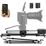 Zeapon Micro 2 E600 Motorized Double Distance Camera Slider  Max. Payload 8kg/18lbs APP Supported Android & iOS (Travel Distance 74cm)
