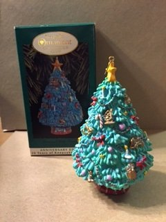 Hallmark Keepsake Ornament Collector's Club Tree 1993