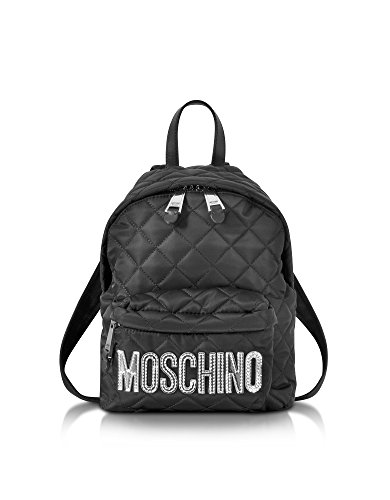 Diapositives Noir Avec Moschino Logo D'or SHGnDmWQcV