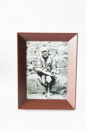 Buy Laps of Luxury Shirdi Sai Baba Original Image in Black and White ...