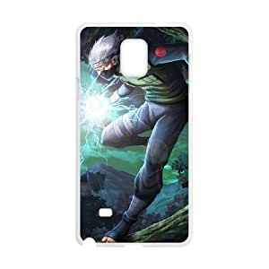 Samsung Galaxy Note 4 White Cell Phone Case Naruto TGKG597911