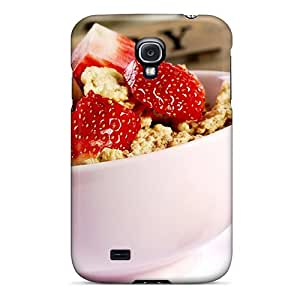 Top Quality Protection Strawberry Cereal Case Cover For Galaxy S4