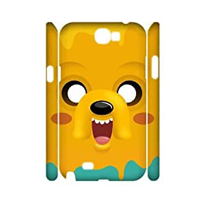 AKERCY Cartoons Pattern Phone 3D Case For Samsung Galaxy Note 2 N7100 [Pattern-1]