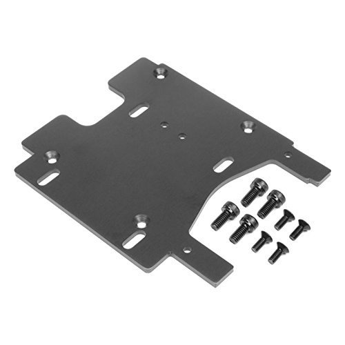 - Motor Plate, Gray: Savage Flux by HPI Racing