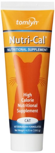 6-Pack Nutri-Cal for Cats High Calorie Dietary Supplement, 4.25-Ounce Tube