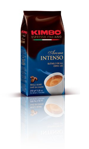 Intenso Whole Bean - Kimbo Espresso Aroma Intenso Whole Bean Coffee - 500 grams