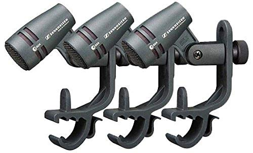 - Sennheiser E604 Dynamic Cardioid Instrument Microphone Kit, 3-Pack