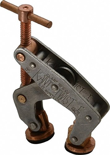 600 lbs Holding Capacity 3-1//16 Length x 3 Width Kant Twist 403-1 Universal Round Handle Clamp 1-1//2 Holding Size