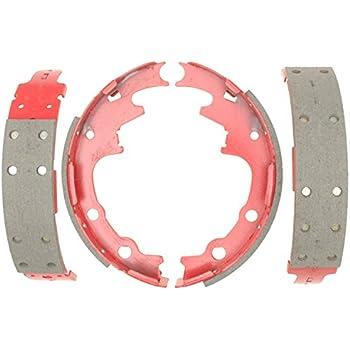 ACDelco 14587B Advantage Bonded Rear Brake Shoe Set