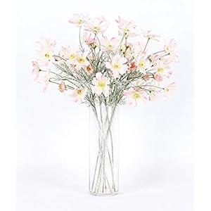 Miss X DIY Artificial Luxury Silk Cosmos Flower Bouquet Wedding Decorations Flower Arrangement 39