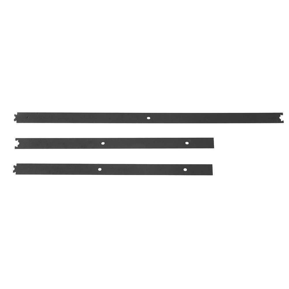 juego de herrajes para puerta corredera capacidad de carga 150 kg color negro Sistema de puerta corredera kit de hardware para armarios