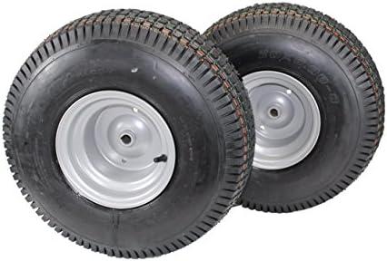 Set de 2) 20 x 8.00 - 8 neumáticos & ruedas 4 capas para césped y ...
