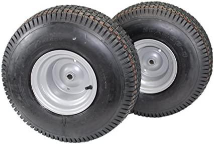 Set de 2) 20 x 8.00 - 8 neumáticos & ruedas 4 capas para ...