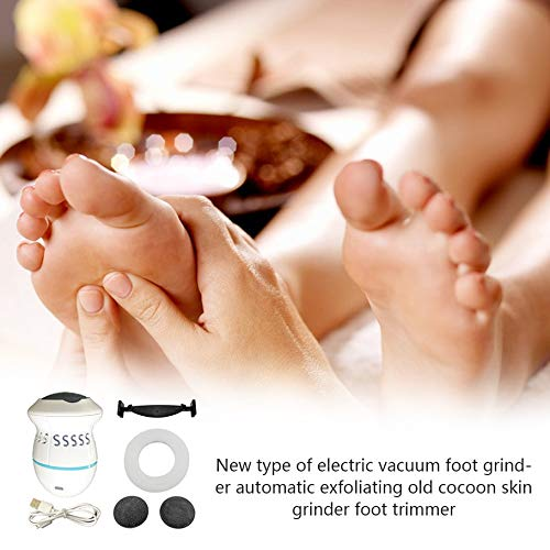 Licini Remover Rechargeable Electronic Foot Files Pedicure Tools Pedi Feet Care Perfect for Hard Cracked Skin