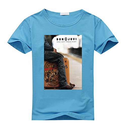 DIY Cool Casual Cotton Bon Jovi T Shirts For Men