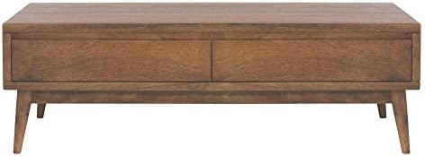 Home Decorators Collection Conrad Coffee Table, 16 Hx49 Wx24 D, Antique Natural