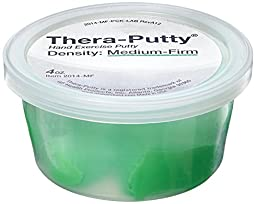 Lumex 2014-MF Thera-Putty Retail Display Kit, Medium-Firm, 4 oz.