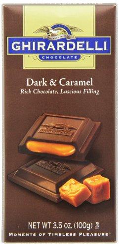 Ghirardelli Chocolate Dark Caramel 3 5 Ounce