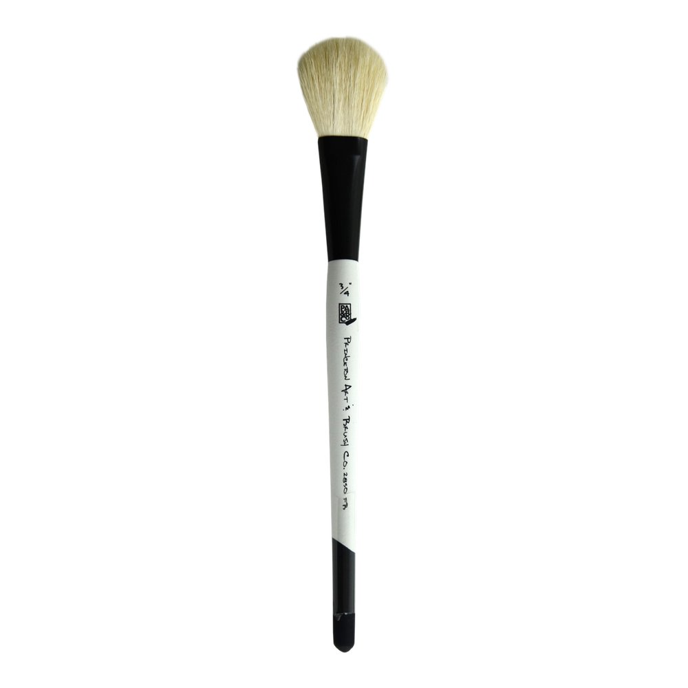 Princeton Good Mop, Brushes for Watercolor Series 2850, Natural Goat Hair Bristle, Filbert Size 3/4 inch