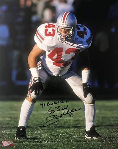 (Ryan Miller Ohio State Buckeyes 16-1 16x20 Autographed Photo - Certified Authentic)