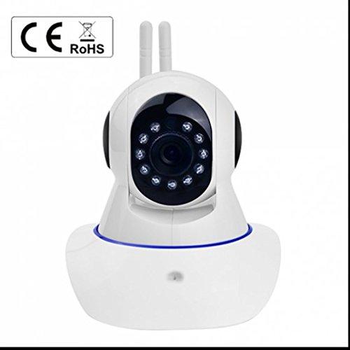 WiFi Sicherheitskamera ip kamera Alarmanlagen Baby Monitor Video Baby Haustier Video Monitor ,Integriertes WiFi Modul,Haus Überwachung mit Bewegungserkennung Infrarot Nachtsicht Unterstützt SD-Karte