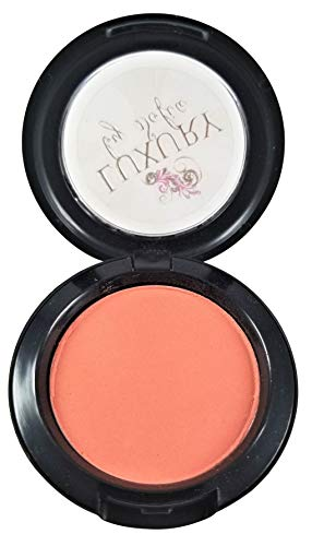 Luxury By Sofia All-Natural Blush | Organic &Natural Ingredients, Highly Pigmented, Smooth Blush Lasts All Day | Highlight Your Face With A Micro-Slip Powder That Glides On The Skin (Lotus Peach)