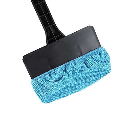 Limpiaparabrisas de plástico portátil Pudincoco Limpiador fácil Microfibra limpia Ventanas de difícil acceso en su automóvil u hogar (negro): Amazon.es: ...