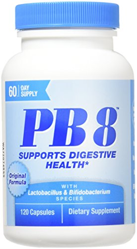 Nutrition Now - PB 8 Probiotic Acidophilus - 120 Capsules - Biotic Capsules