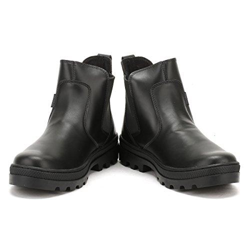 Altas Mujer para Palladium Chel Negro L Plboss Zapatillas W PXfH1nq