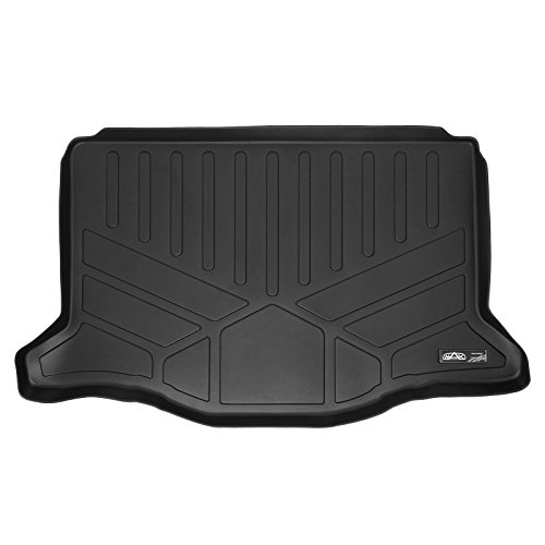 SMARTLINER All Weather Cargo Liner Floor Mat Black for 2015-2019 Honda Fit