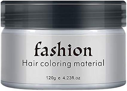Tamkyo Color Temporal para el Cabello Cera Hombres Diy ...