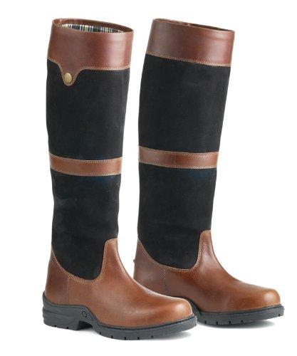 OvationケンナLadies Country Country Boot Boot B00D46OWOM B00D46OWOM 42|ブラック/ブラウン ブラック/ブラウン 42, TREND HOUSE:c9716519 --- alumnibooster.club
