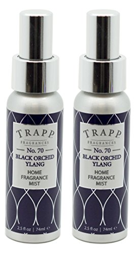 Trapp Home Fragrance Mist, No. 70 Black Orchid Ylang, 2.5-Ounce (2-Pack)