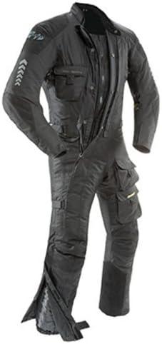 Joe Rocket Mens Survivor Suit in Black//Black X-Large//Short