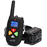 PESTON Dog Training Collar Upgraded 2000ft Remote Rechargeable Waterproof Electric Shock Collar Beep Vibration Shock Small Medium Large Dogs