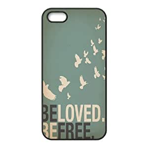 Be Free Brand New Cover Case for Iphone 5,5S,diy case cover ygtg580691