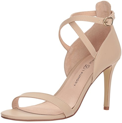 Chinese Laundry Leather Heels - Chinese Laundry Women's Sabrie Heeled Sandal, Sand, 7.5 M US