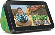 All-new Echo Show 5 (2nd Gen) Kids | Designed for kids, with parental controls | Chameleon