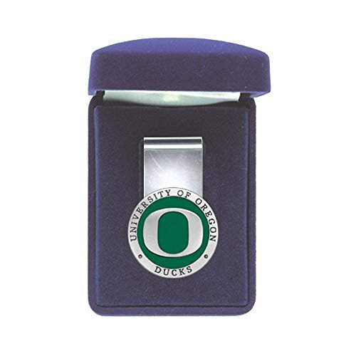 UNIVERSITY OF OREGON DUCKS SPRING STEEL MONEY CLIP (Duck Money Clip)