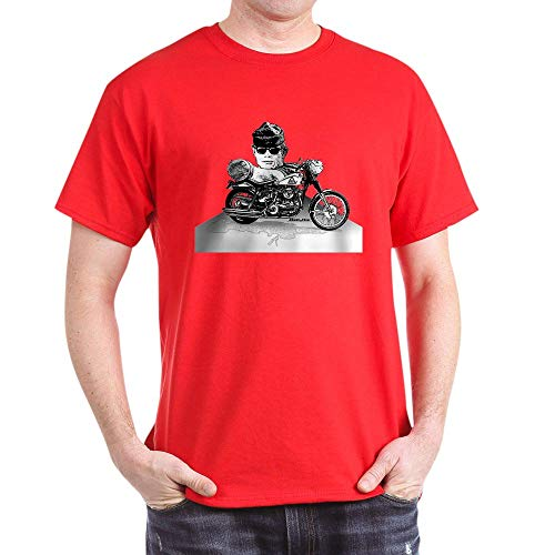 CafePress Then Came Bronson T Shirt 100% Cotton T-Shirt Red