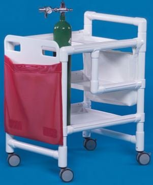 - MSEC by Innovative Products Unlimited, PVC Emergency Cart, 34.5