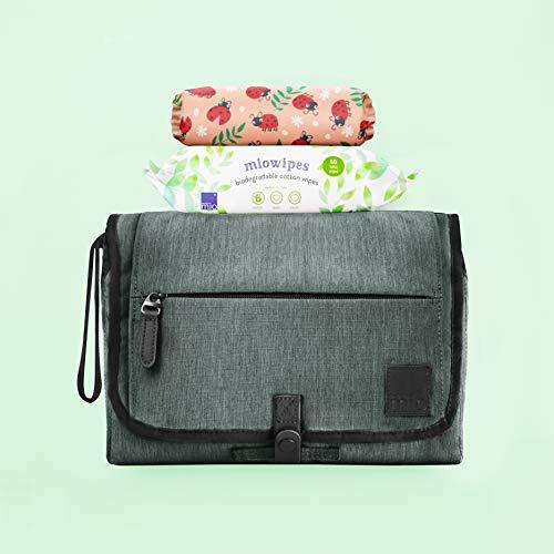 Bambino Mio CW LBUG, Grab & go Change Wallet, Loveable Ladybug