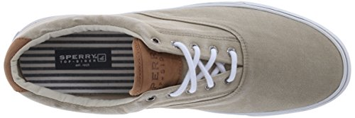 Sperry Top-Sider Men's Salt Washed Striper LL CVO Laceless,Chino,10.5 M US by Sperry Top-Sider (Image #8)