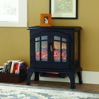 Legion 1,000 Sq. Ft. Panoramic Infrared Electric Stove by...