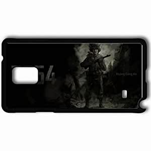 Personalized Samsung Note 4 Cell phone Case/Cover Skin 7554 Black