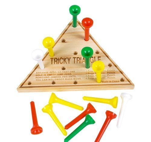 Wood Triangle Games Restaurant Puzzles product image