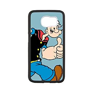 Samsung Galaxy S6 Cell Phone Case White Popeye the sailor 001 SYj_957975