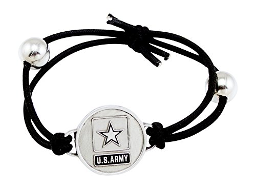 - Son Sales U.S. Army Charm Adjustable Bracelet