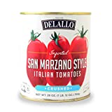 DeLallo San Marzano Style Crushed Tomatoes 28 oz.(pack of 3)